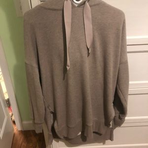 aerie hoodie with zipper on sides